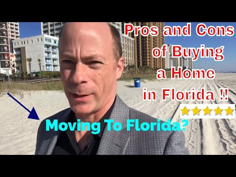 Pros And Cons Of Buying A Home In Florida | Moving To Florida