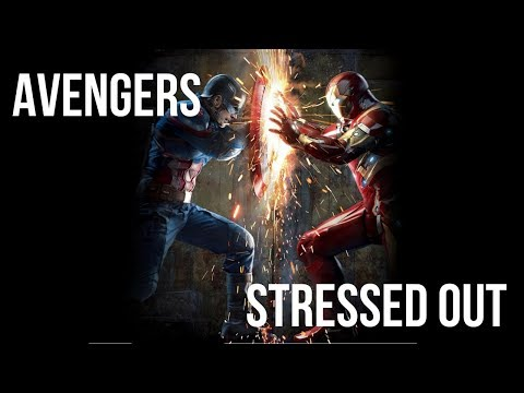 AVENGERS STRESSED OUT