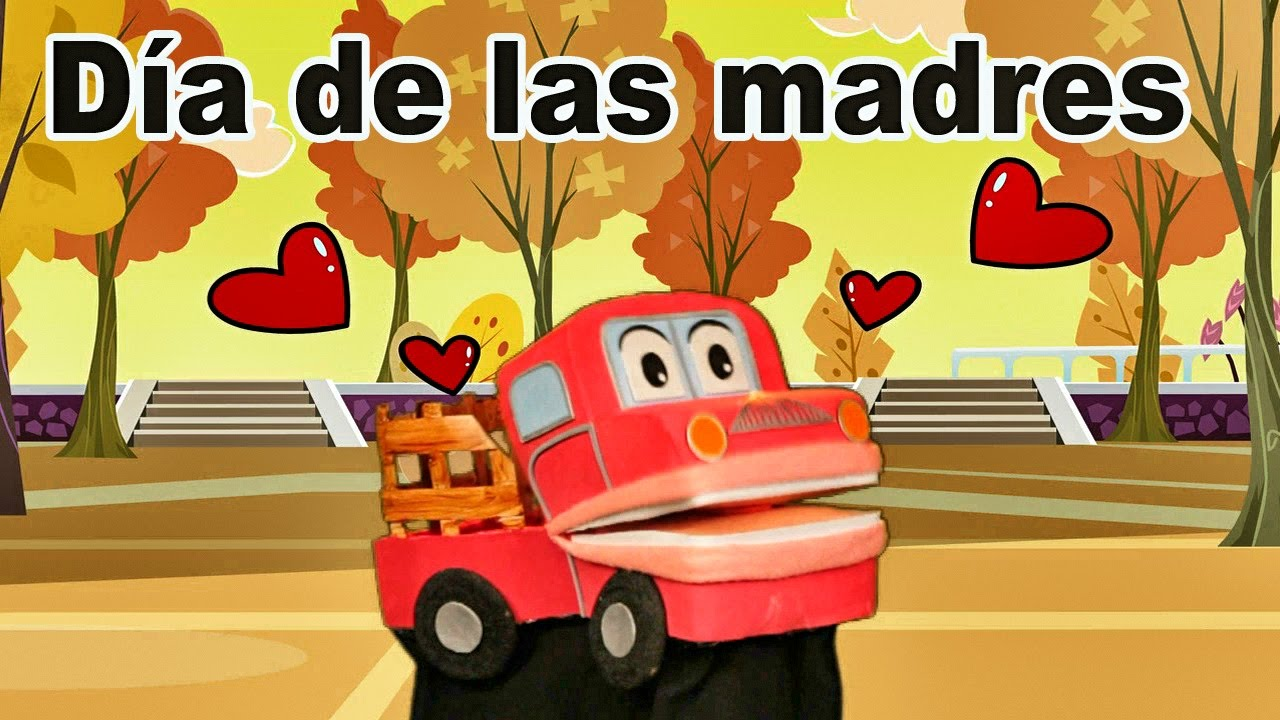 Feliz Día De Las Madres Barney El Camion Video Para Niños Youtube