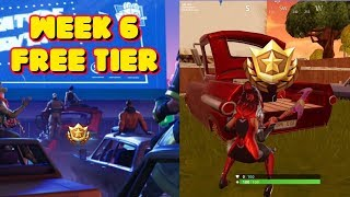 FORTNITE SEASON 5 WEEK 6 LOADING SCREEN FREE TIER LOCATION *OFFICIAL*