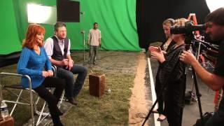 reba blake shelton acm awards 2012 promo shoot
