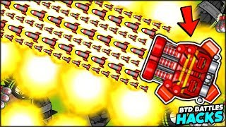 BRAND NEW MINI ROCKET BOMB STORM AUTO TURRET TOWER | Bloons TD Battles Hack/Mod (BTD Battles)