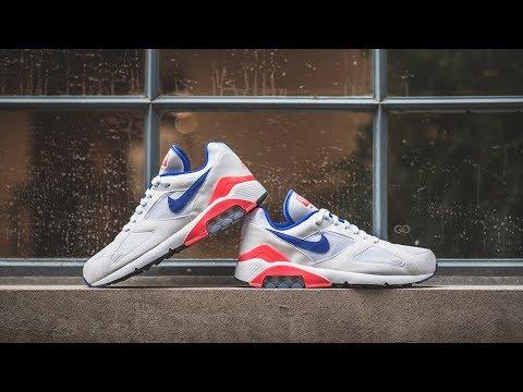 """Review & On-Feet: Nike Air Max 180 """"Ultramarine"""""""
