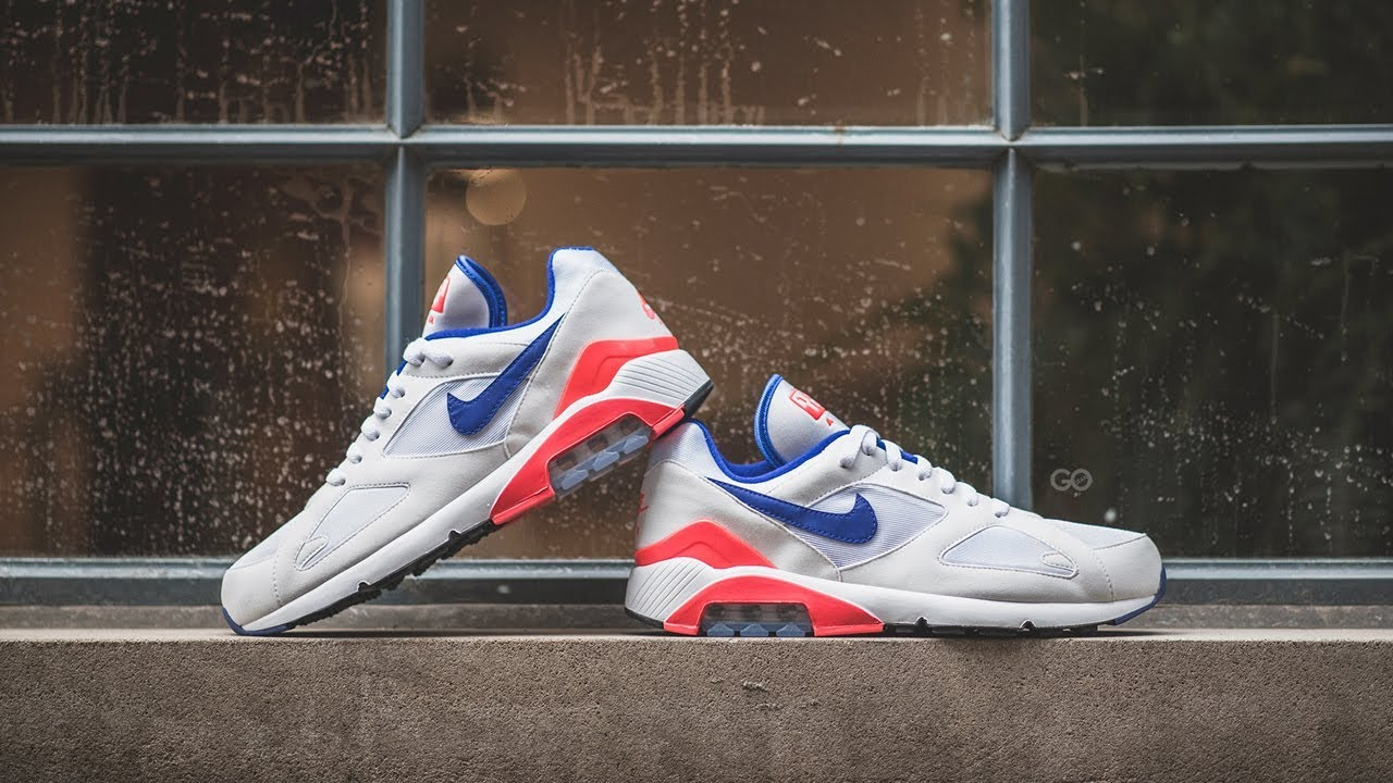 purchase cheap d9272 09710 Review  On-Feet Nike Air Max 180