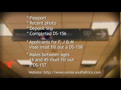 VISA-USA- process for south africans
