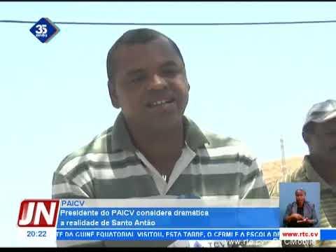 Presidente do PAICV considera dramática a realidade de Santo Antão