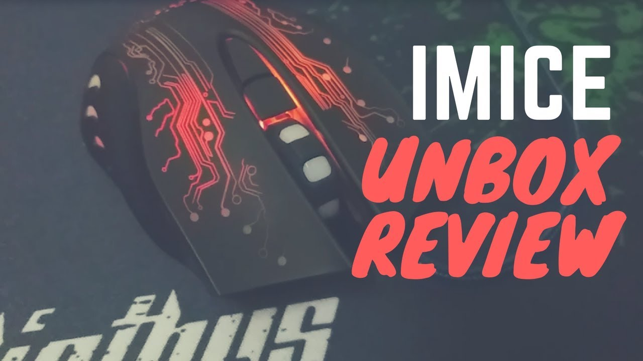 Imice x9 Gaming Mouse Unboxing & Review, Cheap Gaming Mouse