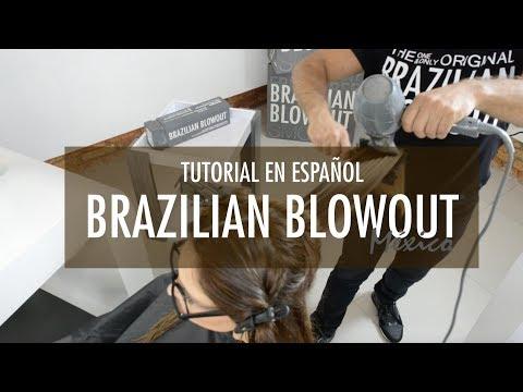 Tutorial Brazilian Blowout Capacitación en Español México
