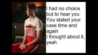 Glee Cast - Will You Still Love Me Tomorrow/Head Over Feet Lyrics