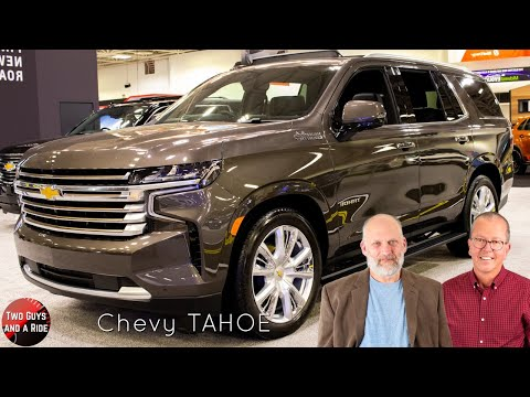 2021 Chevy Tahoe High Country - Big, Bold, and Refined