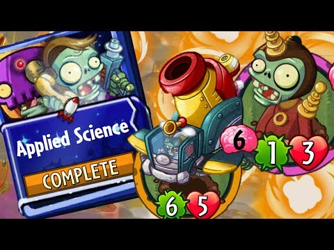 Plants vs Zombies Heroes Gameplay : Rusbolt - Applied Science Strategy Deck Interdimensional Zombie