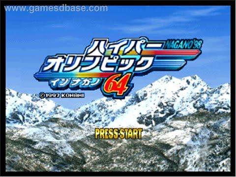 Nagano Winter Olympics 98 Music Main Menu
