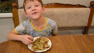 Оладьи из бананов и яиц: пошаговый рецепт от Макара