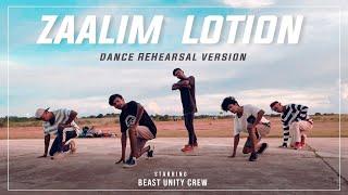 ZAALIM LOTION || NAGPURI DANCE Rehearsal 2021 || BEAST UNITY CREW || SINGER - Shrawan Ss