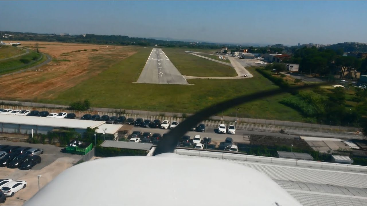 Aeroporto Urbe : Atc cessna touch and go training at urbe airport aeroporto