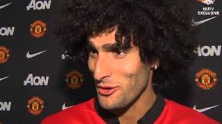 Marouane Fellaini first interview for Manchester United