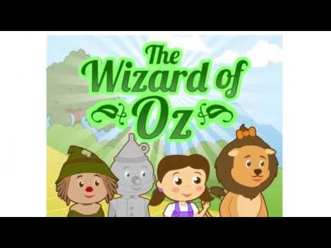 Wizard Of Oz Story | Picture Book for Kids | Free Printable Coloring Pages