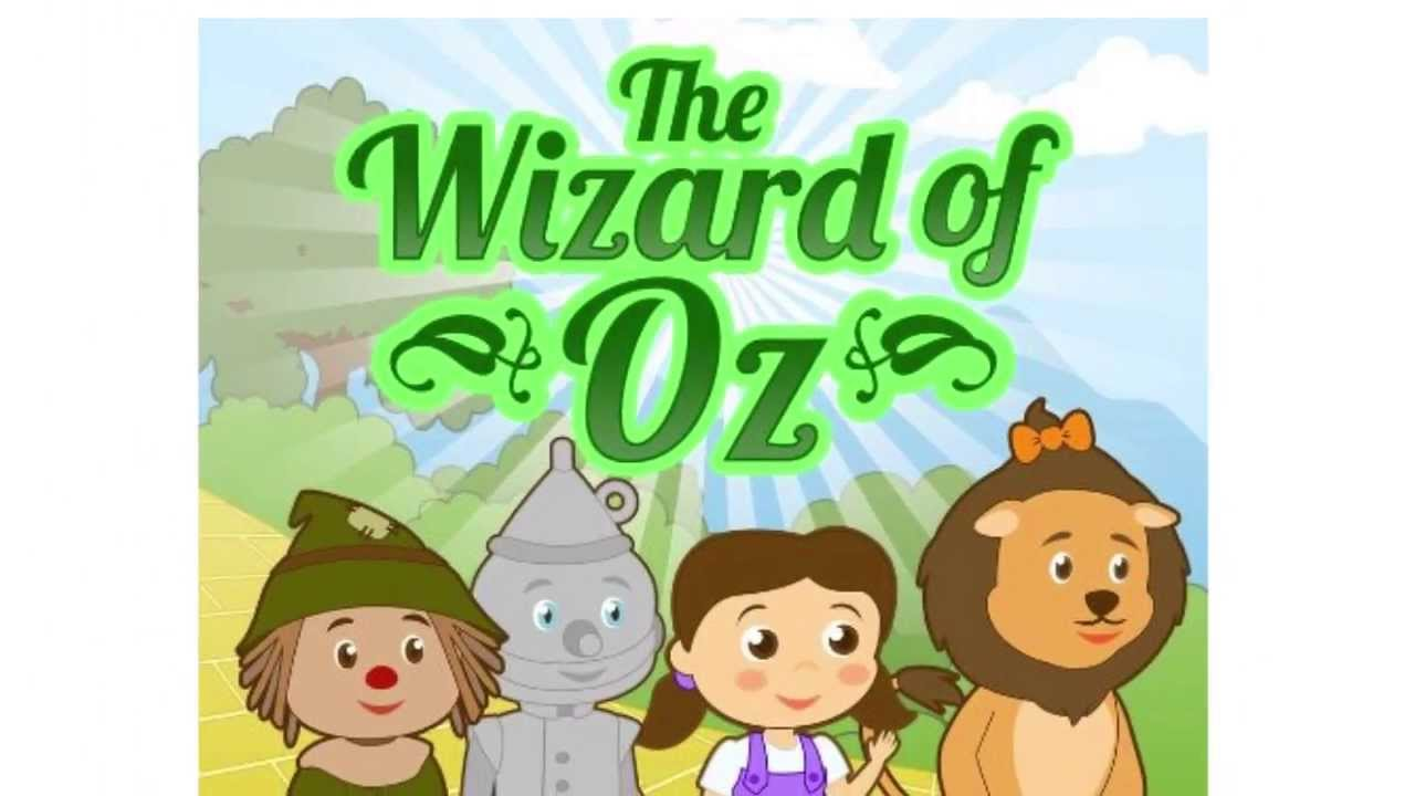 Wizard Of Oz Story | Picture Book for Kids | Free ... | printable coloring book for kids.