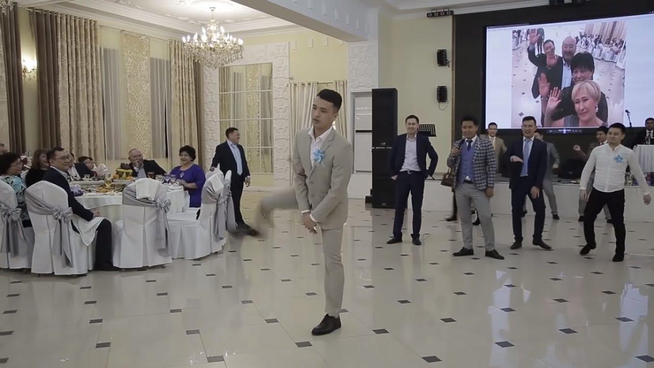 Казах зажигает на свадьбе, лучший танец. The best dance in the wedding