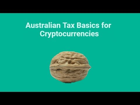 Australian Tax Basics For Cryptocurrencies In A Nutshell