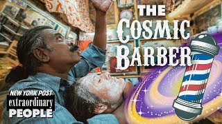 Baba The Cosmic Barber Gave the World's Greatest Head Massage | Extraordinary People | New York Post