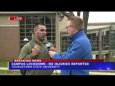Sports Wrap with Ron Potesta - Youngstown State University On Lockdown For Reports Of Gunman On Campus