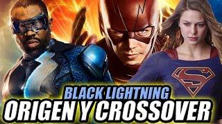 BLACK LIGHTNING - Trailer Review, Origen y Posible Crossover Con The Flash/Supergirl