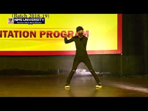 Best Robotic Dance on Abhi Mujh mein kahin- Sonu Nigam (Agneepath) | Nims University Jaipur