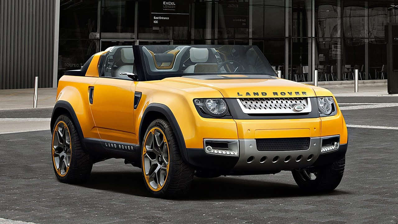 2011 Land Rover DC100 Sport Concept Review Outside  Inside  YouTube