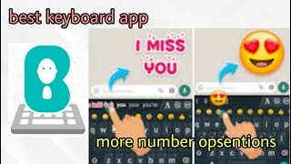 bobble Indic keyboard | best android keyboard | text to sticker | face to sticker | tamil | 2021 screenshot 4