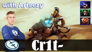 Crit - Chen Offlane | with Arteezy (Enigma) | Dota 2 Pro MMR Gameplay