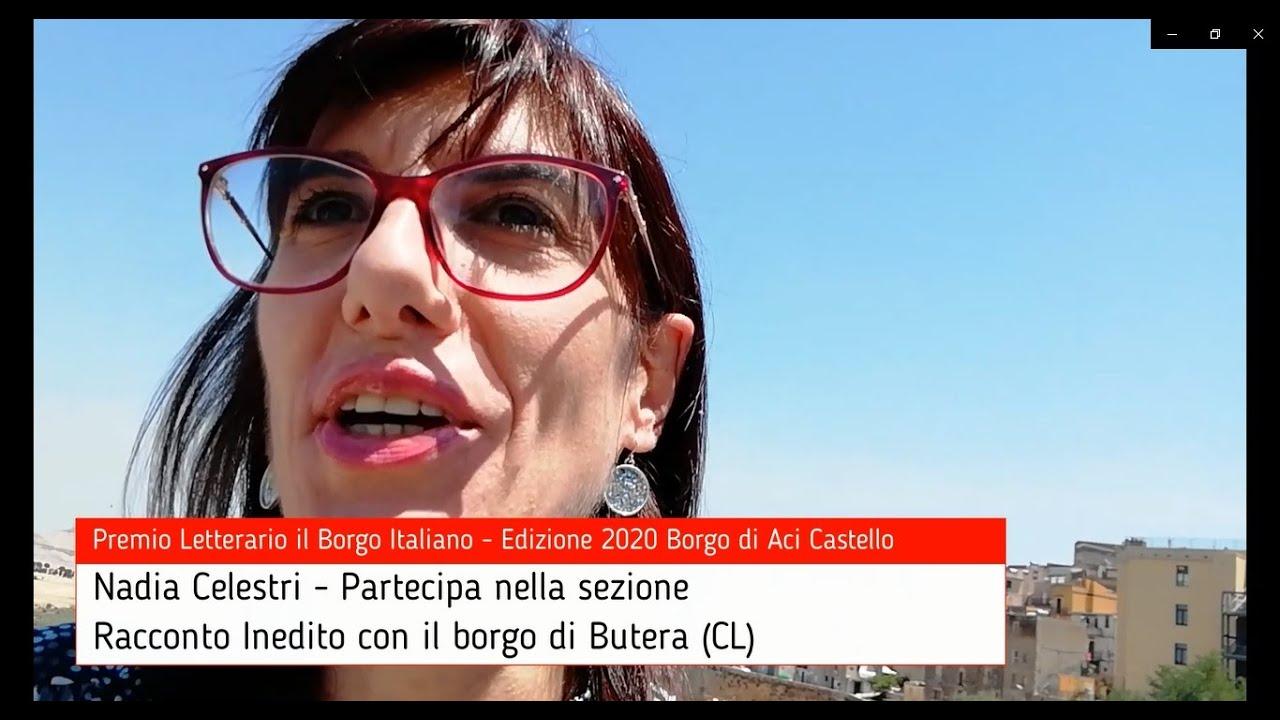 Nadia Celestri per Butera su Premio Letterario il Borgo Italiano TV