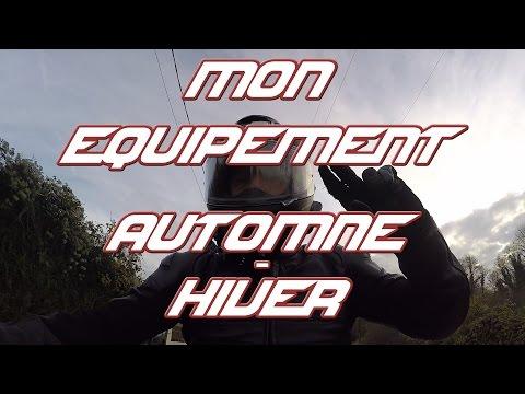 MotoVlog #19 | Mon Équipement Automne-Hiver - SHIFT87