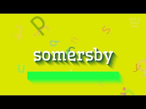 """How to say """"somersby""""! (High Quality Voices)"""