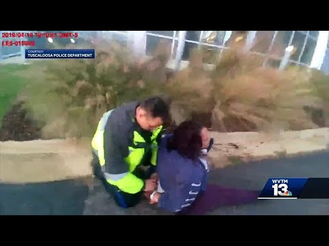 Tuscaloosa Police release body camera video surrounding viral arrest