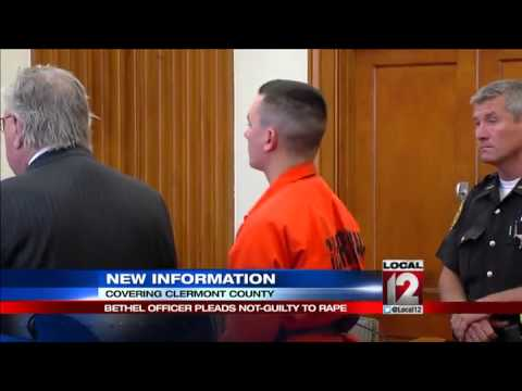 Former Bethel police officer in court on rape charge