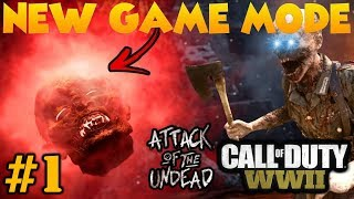 RELIC OF THE UNDEAD #1 - COD WW2 Funny Moments & Fails (ZOMBIES!!!!!!)
