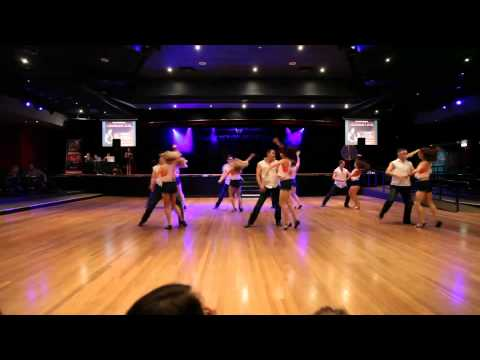Sexy And I Know It - West Coast Swing routine @ Nuroc - Best of the Best 2012