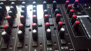 Présentation de la the t mix x mix 1202 fx mp usb