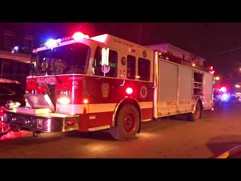 ELIZABETH NEW JERSEY WORKING HOUSE FIRE 12/11/17 UNION COUNTY THIRD ALARM FATAL FIRE