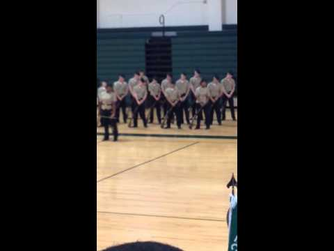 Green Run High School NJROTC Stallion Stampede 2013-2014 competition