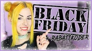BLACK FRIDAY SHOPPING TIPS + Rabattkoder!
