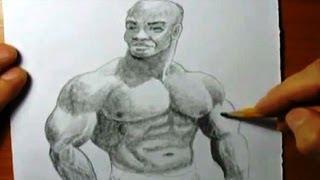КАК научиться РИСОВАТЬ. Рисуем АТЛЕТА карандашом #2