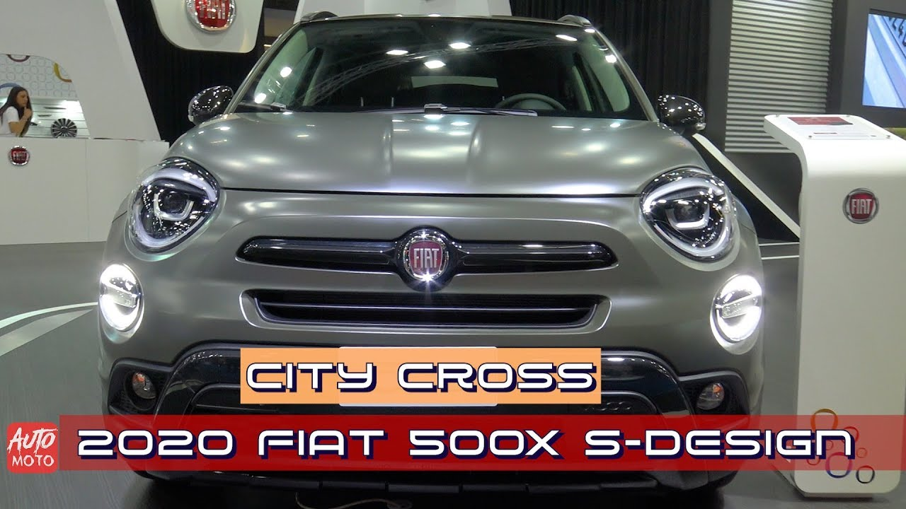 2019 2020 Fiat 500x S Design City Cross 1 0 Exterior And Interior 2019 Automobile Barcelona