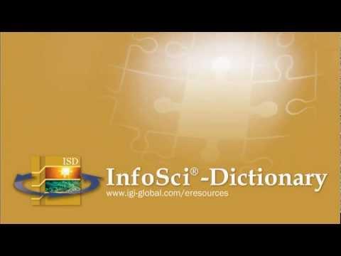 IGI Global: InfoSci-Dictionary