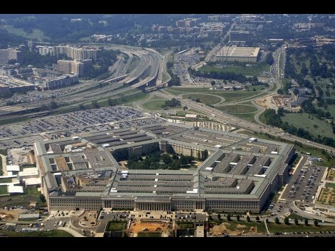 Where is the Pentagon located on Google Earth Map