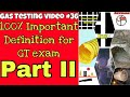 Important definition for gas testing examination || part 2