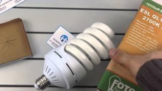 FOTON LIGHTING ESL QL14 45W/2700K E27, огляд енергозберігаючої лампи