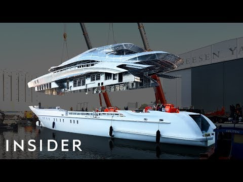 What It Takes To Build A $38M Superyacht