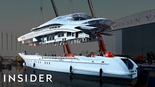 What It Takes To Build A 164-Foot Superyacht